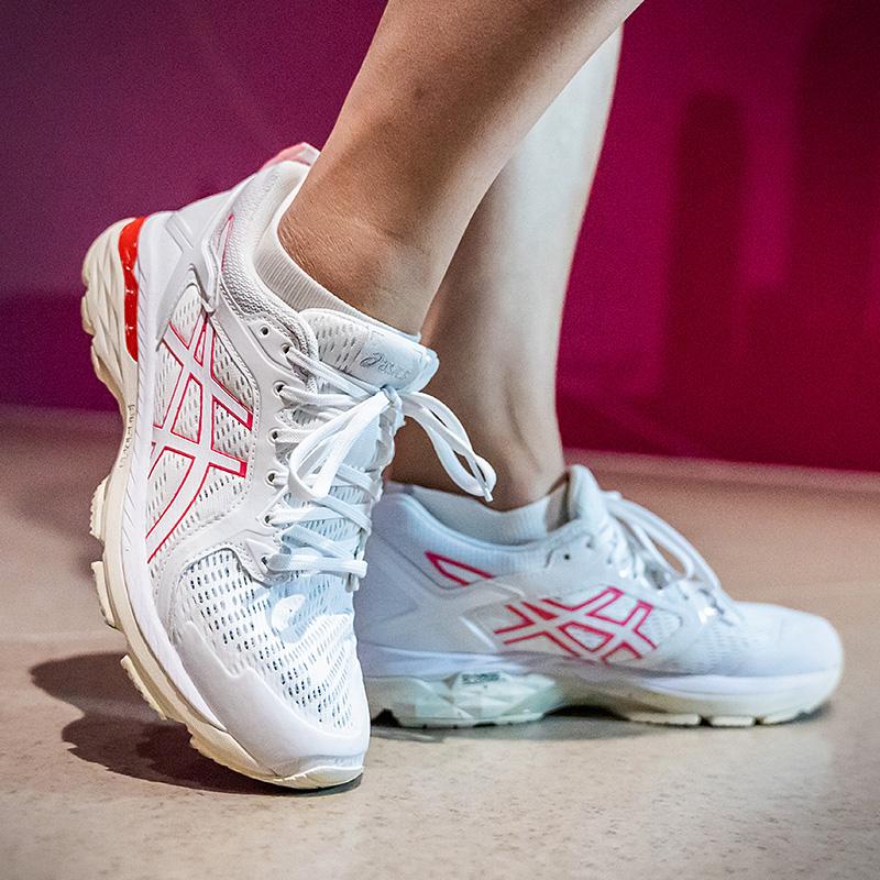 亚瑟士GT-MOTOR 2021女士跑鞋缓震支撑透气潮搭运动鞋
